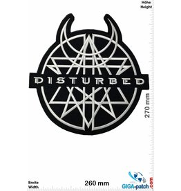 Disturbed Disturbed - 27 cm - BIG