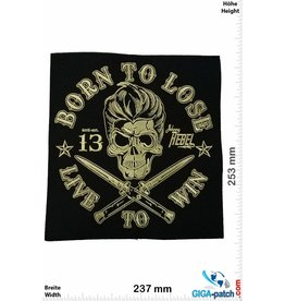 Johny Rebel Born to Lose - Live to Win - Johny Rebel - 13 - 25 cm BIG