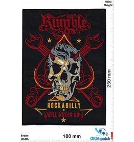 Rockabilly Rumble 59 - Rockabilly will never Die - 25 cm - BIG