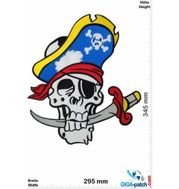 Pirat Pirat  - 34 cm - BIG
