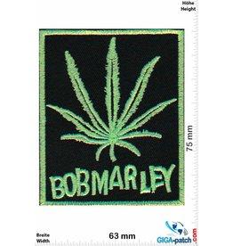Bob Marley  Bob Marley - neongreen - Rasta - Reggae