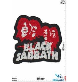 Black Sabbath Black Sabbath - red 4 Heads