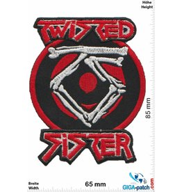 Twisted Sister  Twisted Sister - silver red
