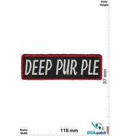Deep Purple  Deep Purple - silver red