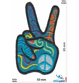 Frieden Peace - Frieden - Hand color