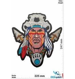 Indian Indian Chief - Indianer  - 24 cm - BIG