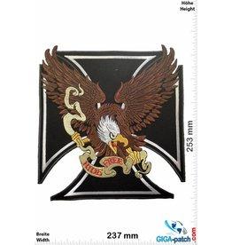 Adler Adler - Eagle - Keuz - Ride Free  - 25 cm - BIG