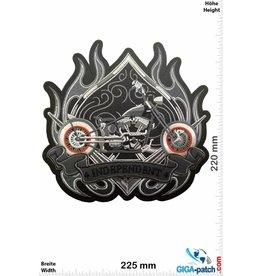 Bikerpatch Independent -  V Power - 22 cm