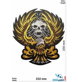 Adler Adler - Eagle - Skull - 25 cm - BIG