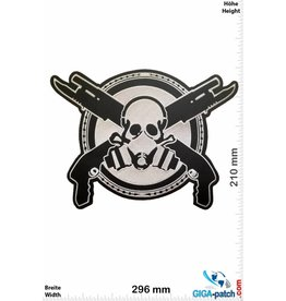 Gasmask Gasmask - Guns - Team Patch - 29 cm