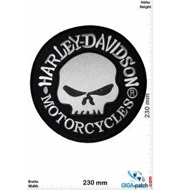 Harley Davidson Harley Davidson Motorcycles - Skull - 23 cm -BIG
