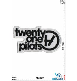 Twenty one pilots Twenty one pilots - black white