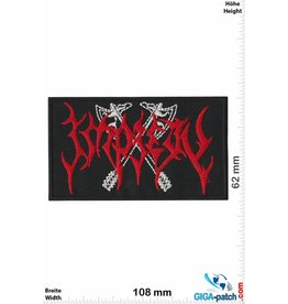 Impiety  Impiety - red silver - Metal-Band
