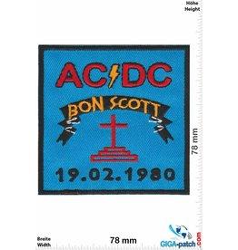 AC DC ACDC  - AC DC - Bon Scott - 19.02.1980