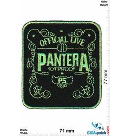 Pantera Pantera - neongreen - Official Live