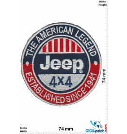 Jeep Jeep - The American Legend - 4x4 - Established Since 1941