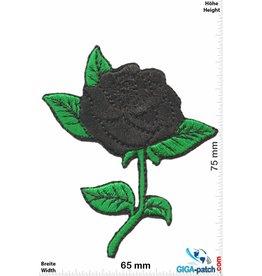 Oldschool Black Rose