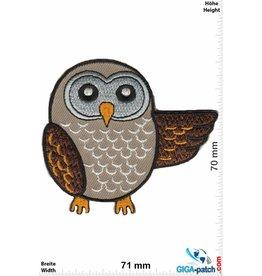 Eule Owl - brown
