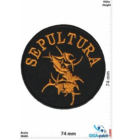Sepultura Sepultura - gold- Metal-Band