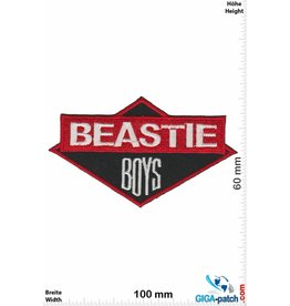 Beastie Boys  Beastie Boys - red black