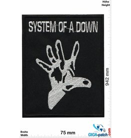 System of a Down System of a Down- silver Hand