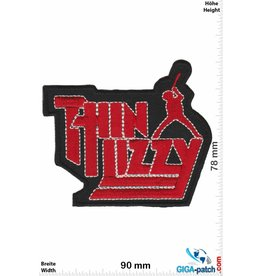 Thin Lizzy Thin Lizzy  - red