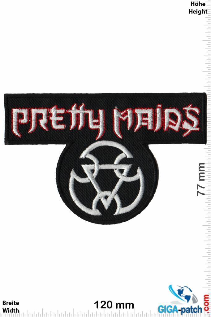 Pretty Maids - Patch - Back Patches