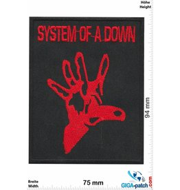 System of a Down System of a Down- red Hand