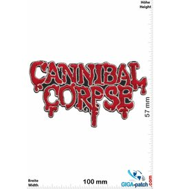 Cannibal Corpse Cannibal Corpse -Death-Metal-Band -red