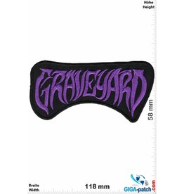 Graveyard  Graveyard - purple - Hard-/Psychedelic-Rock-Band