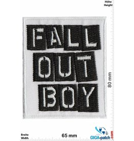 Fall Out Boy Fall Out Boy - black  white- Alternative-Rockband