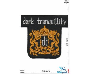 Dark Tranquillity band logo patch Death metal band patch.