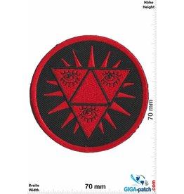 Magic Eyes 3 Magische Augen - Magic Eyes - Pyramide - rot