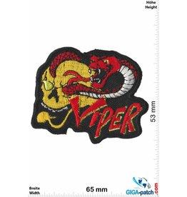 Snake Viper - Snake - Skull