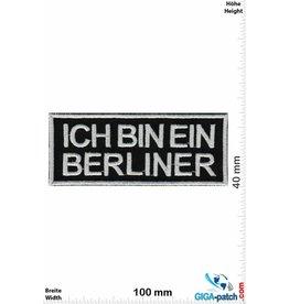Berlin Ich bin ein Berliner