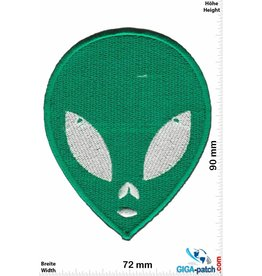 Alien Green Alien - Head -  green -