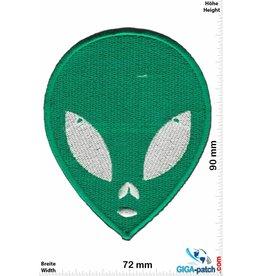 Alien Green Alien - Head -  green -