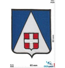Historical  blau weiss - Kreuz