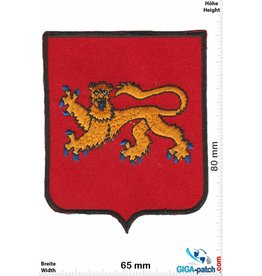 Historical  Red - Gold lion