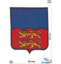 Historical  Blue-red - 2 lions