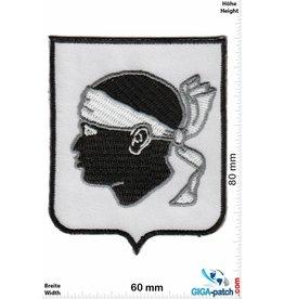 Korsika, Corsica Korsika - Wappen - Corsica