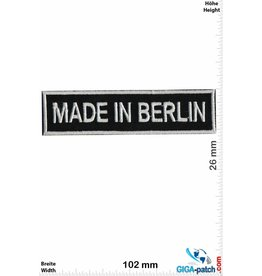 Berlin Made in Berlin