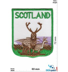 Schottland, Scotland Schottland - Flagge - Wappen- Scotland