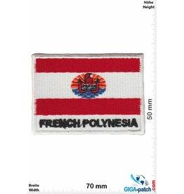 French Polynesia Französisch-Polynesien - French Polynesia - Flagge
