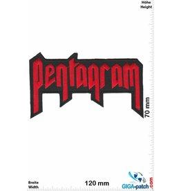 Pentagram Pentagram - Untergrund-Band Heavy-Metal - red