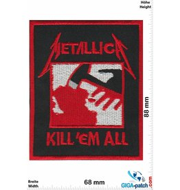 Metallica Metallica - Kill 'em all
