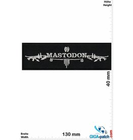 Mastodon Mastodon - Metalband - silver