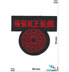 Burzum Burzum - Black-Metal- Dark Metal - red