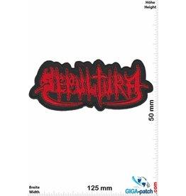 Sepultura Sepultura - rot - Metal-Band