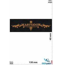 Mastodon Mastodon - Metalband - gold